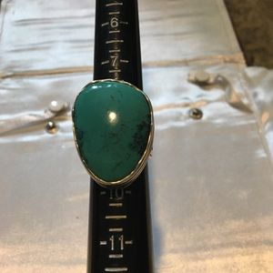 Silpada Tumbled Turquoise Ring R2017